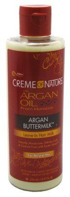 Creme Of Nature Argan Oil Argan Buttermilk Leave-In 8oz (6 Pack) * Click image to review more details.