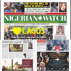 @NigerianWatch exclusive feature on page 9. Feat @buffawards host @femioyeniran @MPeopleHeatherS Out Today! Pick up a copy!! #Global #NigeriaWatch #LondonPremiere #media #press #coverage #pr #marketing #celebrities #catchystories #UK #Lagos #Nigeria #Buff2016 #booktickets #Countdown #5daystogo