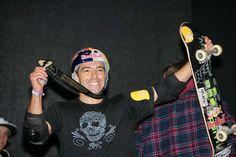 Mineirinho-Sandro Dias-campeão mundial de skate vertical-6 VEZES