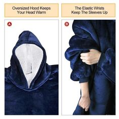 Made of ultra-soft fleece and lined with warming. One size fits all- roomy enough to cover you from head to toe Extra large hood keeps your head comfy and warm Family Game Night, Family Games, Wearable Blanket, Holiday Sweater, Warm And Cozy, Best Gifts, Blankets, Print Ideas, Fashion Clothes