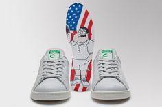 アディダス オリジナルスからAmerican Dadとのコラボレーションモデル adidas Originals x American Dad STAN SMITHが発売