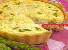 Receita de Torta de aspargos com ricota