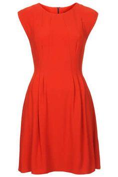 Crepe Seam Flippy Dress - Dresses - Clothing Vintageklänningar 189f20cb3929f