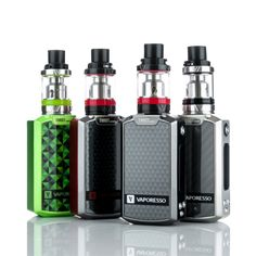Vaporesso has flooded the industry with new levels of innovation and streamlined user experience. The Vaporesso Tarot Nano TC Starter kit features the brand new Vaporesso Tarot Nano MOD and the Veco Sub-Ohm tank. The Tarot Nano TC MOD reaches a formidable 80 watts of variable wattage power along with a concisely design temperature control mode provided by the OMNI Board chipset. The Omni board chipset makes no sacrifice to power while keeping the features we've all come to love such as th...