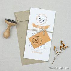 """Invitación de boda - """"CORONA LAUREL"""""""