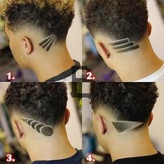 These are the latest new men's haircuts and men's hairstyles for you to get in Pick out a brand new style for your hair and update your look. Cool Hairstyles For Men, Cool Haircuts, Hairstyles Haircuts, Barber Hairstyles, Messy Haircut, Fade Haircut, Shaved Hair Designs, Textured Haircut, Haircut Designs