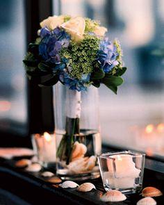 Brides: Marion and Ben in Traverse City, MI : Wedding Flowers Gallery