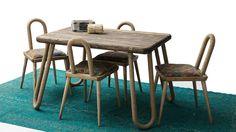 Ldn 201 Yemek Masası Set Outdoor Tables, Outdoor Decor, Outdoor Furniture, Home Decor, Interior Design, Home Interior Design, Yard Furniture, Garden Furniture, Home Decoration
