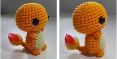 adorable crocheted charmander | the crochet space