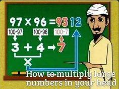 Multiplying big numbers easily