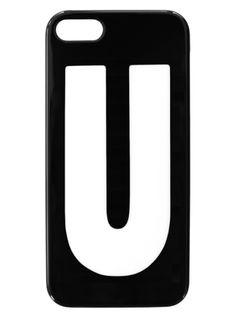 iPhone 5 5S fodral - Bokstaven U 3248dc4e57ca9