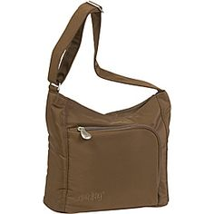 AmeriBag Willow Microfiber Handbag - Chocolate - via eBags.com!