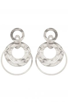 #sterling #silver earrings I designed for NEW ONE I NEWONE-SHOP.COM
