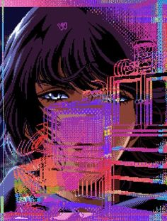 (NSFW) 1996 | X Girl - Cyberpunk Adventure (X-GIRL)  #vaporwave