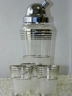 Deco Cocktail shaker