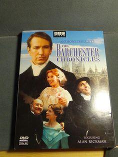 Alan Rickman, Barchester Chronicles BBC Anthony Trollope, 2 DVD disc set box