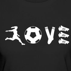 Love Soccer Shirt Discover a great training to improve your soccer skills. This … - Football Art Football, Football Tattoo, Sports Football, Soccer Art, Football Quotes, Play Soccer, Nike Soccer, Soccer Cleats, Girls Soccer Quotes