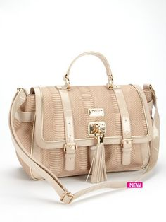 Lipsy  Jessica Snake Double Pocket Bag
