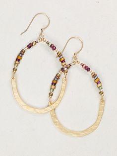 Meridian Earrings Holly Yashi. cute idea