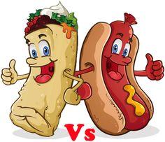 Burrito vs. Hot Dog