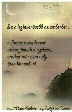 Wass Albert: Ez a legkülönösebb az emberben. Life Quotes, Humor, Zen, Quote, Quotes About Life, Quote Life, Living Quotes, Humour, Quotes On Life