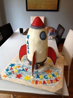 Old Fashioned Rocket Cake - 1