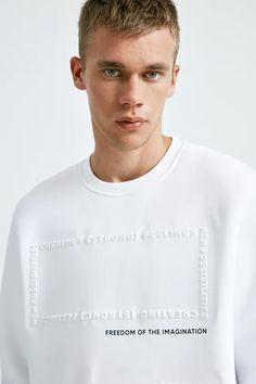 Mens Sweatshirts, Mens Tees, Boys T Shirts, Cool Shirts, Slogan, Harley Quinn Comic, Embroidery On Clothes, Jesus Shirts, Latest Mens Fashion
