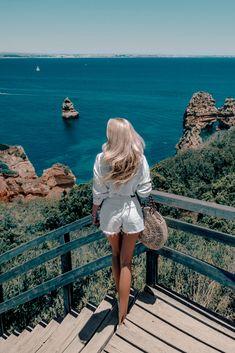 Praia do Camilo, Algarve, Portugal - New Ideas Algarve, Summer Pictures, Travel Pictures, Girl Photography, Travel Photography, Debut Photoshoot, Photoshoot Fashion, Foto Nature, Photographie Portrait Inspiration
