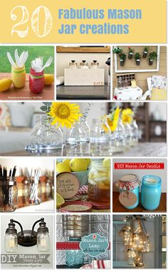 Mason jars for every occasion