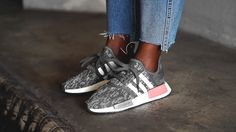 ADIDAS NMD_R1 W (grey five / grey three / raw pink) SKU BY9647