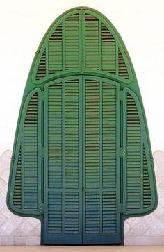 Shuttered door in Terrassa, Catalonia, Spain. Door to the world. lσvє ♥ #bluedivagal, bluedivadesigns.wordpress.com