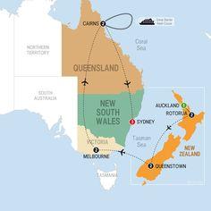 Trafalgar-Australia and New Zealand Panorama - Summer 2015...Getting ready!!