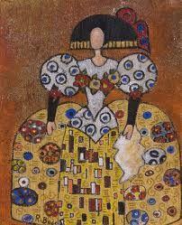Pinzellades al món: 'Meninas' il·lustrades per Raquel de Bocos Klimt, Illustrations, Environmental Art, Paint Designs, Public Art, Oeuvre D'art, Lovers Art, All Art, Painting Inspiration