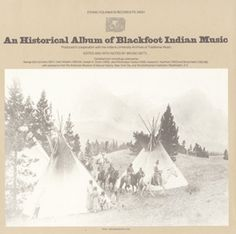 """Listen to #SuperbOwl Dance Song by Calvin and Mary Boy from the 1979 album """"An Historical Album of Blackfoot Indian Music."""""""