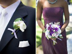 Intimate Purple + Grey Wedding in Toronto from Lemon Fresh Designs Photography