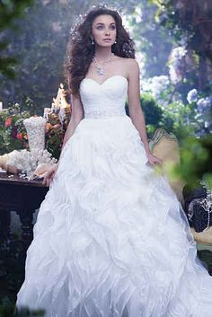 1 of 8 Charming Disney Wedding Dresses For Grown Ups