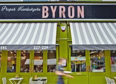 Charlie Smith Design — Byron, Proper Hamburgers