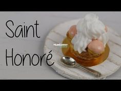 Le Saint Honoré (Tuto Fimo) [English Subtitles) - YouTube