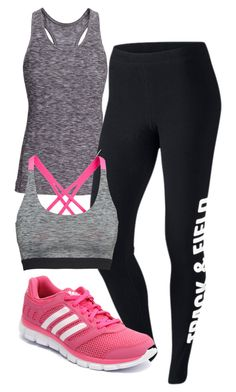 """Elena Gilbert Inspired Sport Outfit"" by mytvdstyle ❤ liked on Polyvore featuring H&M, NIKE, adidas, Inspired, tvd and thevampirediaries"