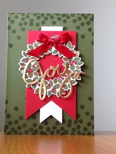 Stampin Up New Holiday Catalog Wondrous Wreath Bundle Rachelwoollard.stampinup.net