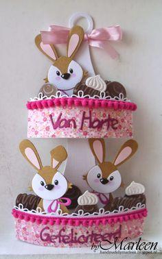 byMarleen: Verjaardagskaart met chocolaatjes