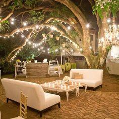 Woodland Lounge Area my dream backyard