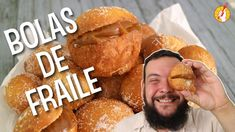 Tenedor Libre - Bolas de Fraile Pretzel Bites, French Toast, Bread, Breakfast, Youtube, Food, Afternoon Snacks, Cooking Recipes, Cookies