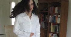 Circle Skirt How-to Separate, Ruffle Blouse, Patterns, Coat, Skirts, Women, Fashion, Block Prints, Moda