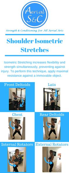 Isometric Stretching is an advanced mobility technique that will build aerial mobility while keeping you injury free!  || Aerial Conditioning || Aerial Mobility || Ultimate Shoulder Mobility Guide || Aerial Arts || Aerial Silks || Aerial Lyra ||