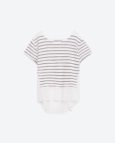Image 6 of STRIPED T-SHIRT from Zara
