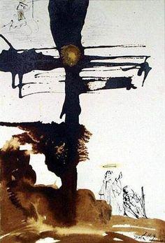 Veni, Domine Jesu (Revelation 22:17) - Salvador Dali