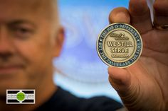 Seattle Event Photography: The Challenge Coin given out at the Student Veterans of America Leadership Summit on the Microsoft campus in Redmond.  ©2014 Ari Shapiro - AShapiroStudios.com