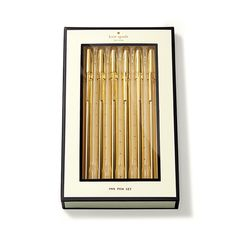 Kate Spade New York Strike Gold Pen Set – Paper Luxe
