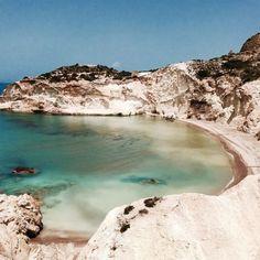 Moon Beach, Milos, Greece, Cyclades (à Ακρη
